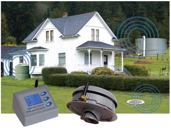 Multiple Home Monitoring Devices : Aquatel d multi tank wireless level monitoring system